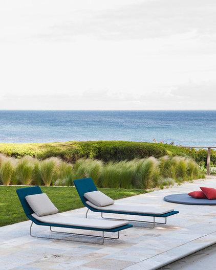 Beach Style Patio by Natasha Barrault Design