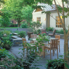 traditional patio by Clinton & Associates Landscape Architects
