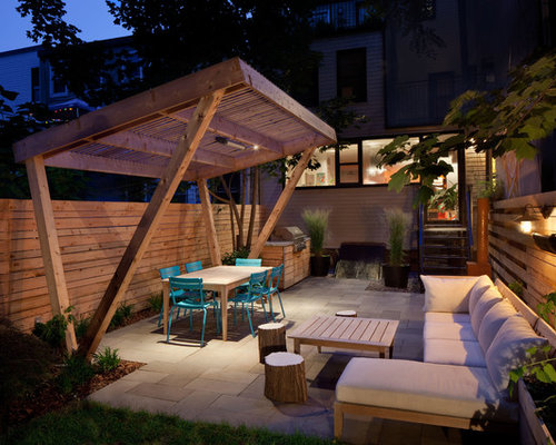 Slanted Pergola Home Design Ideas Pictures Remodel And Decor
