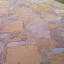 Traditional Patio by NPW Stone Masonry