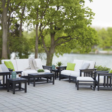 Contemporary Patio by VERMONT WOODS STUDIOS