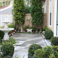 Traditional Patio by Mary Poulos Interior and Exterior Design
