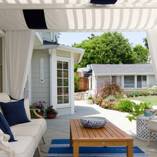 Beach Style Patio by Talianko Design Group, LLC