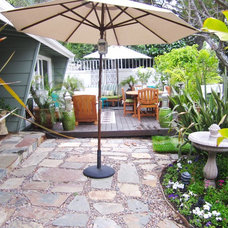Eclectic Patio by COCOCOZY