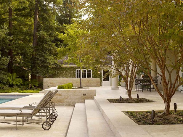 Contemporary Patio by Maiden Stone Inc.