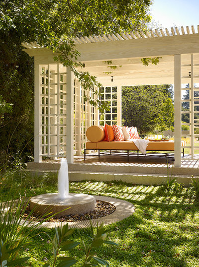 American Traditional Patio by Maiden Stone Inc.