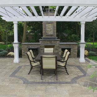 Patio - traditional patio idea in New York