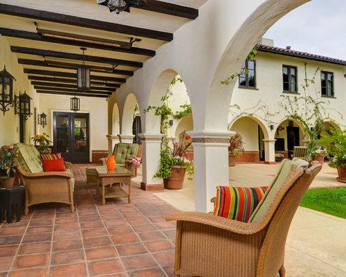 tuscan patio photo in san francisco - Spanish Style Patio Ideas