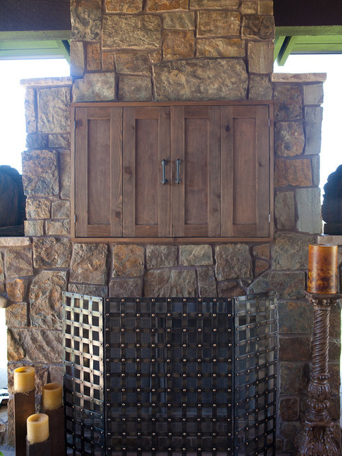 Outdoor Tv Cabinet Home Design Ideas Pictures Remodel