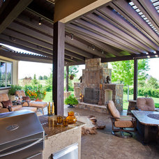 Porch by HighCraft Builders