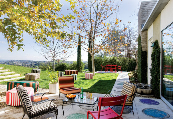 Eclectic Patio by California Home + Design