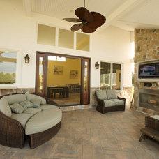 Traditional Patio by Degnan Design Group + Degnan Design Build