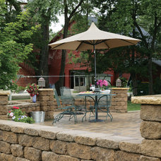 Traditional Patio by Versa-Lok Retaining Wall Systems