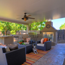 Eclectic Patio by Kerrie L. Kelly