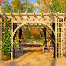 Traditional Patio by Borsello Landscaping