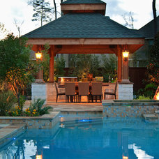 Traditional Patio by Stewart Land Designs