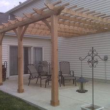 Traditional Patio by GEOWEN Custom Carpentry, Inc