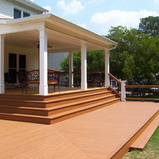 Traditional Patio by PFEIFER BUILDING CO., INC.