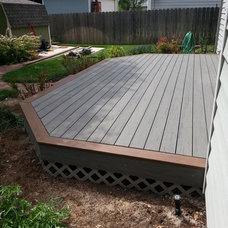 Traditional Patio by Blue Ribbon Construction LLC