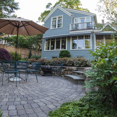 Traditional Patio by Minglewood Designs