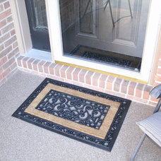 Traditional Patio CONCRETE PORCH TREATMENT