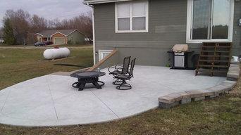 Concrete Slab Patio