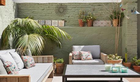 Un patio renovado de 40 m² para disfrutar del sol y los amigos