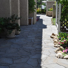 Contemporary Patio by Go Pavers