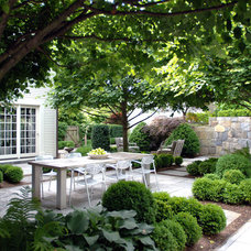 Traditional Patio by Wesley Stout Associates