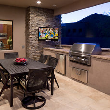 Contemporary Patio by Regency Custom Homes