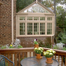 Traditional Patio by Merrick Design and Build Inc.