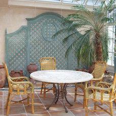 Traditional Patio by Molto Bene Studios
