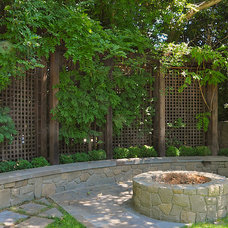 Traditional Patio by AFLA-Landscape Design