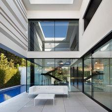 Modern Patio by Albertini - Italian Windows and Doors