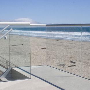 Example of a beach style patio design in San Francisco