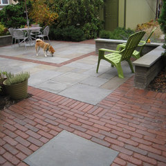 contemporary patio by Heffernan Landscape Design
