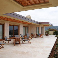 Contemporary Patio by anderson woodworks inc