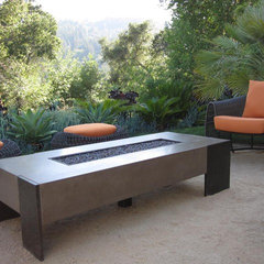 contemporary patio by Concreteworks