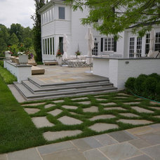 Contemporary Patio by Environmental Landscape Associates