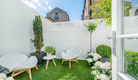 Outdoor Entertaining: How to Eat, Drink and Be Merry in a Small Garden