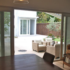 Contemporary Patio by sustainable garden design perth