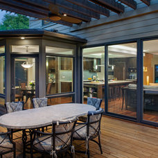 Traditional Patio by CG&S Design-Build