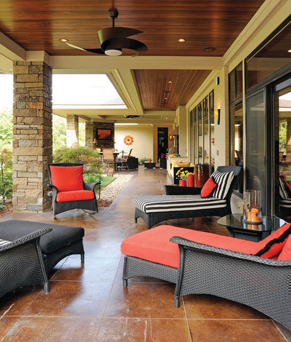 Traditional Patio by Housetrends Magazine