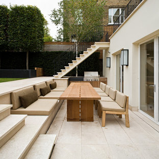 Patio - contemporary patio idea in London with no cover