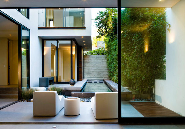 Contemporary Patio by Central Meridian Photography