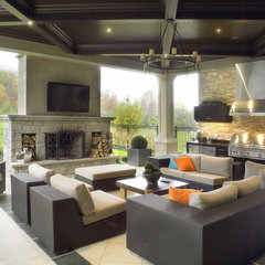contemporary patio by K West Images, Interior and Garden Photography