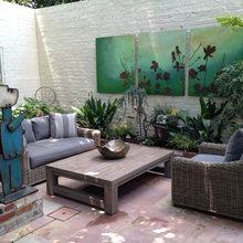 Out Door Artwork - Living Spaces