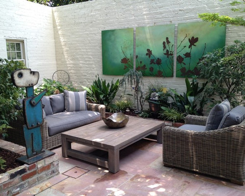 Example Of A Trendy Patio Design In San Francisco