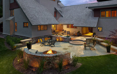 10 Rock Wall Ideas for a Style-Strong Patio