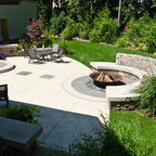 Fire Pit Traditional Patio San Francisco By